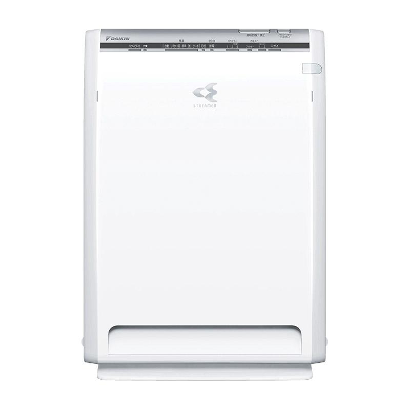 ダニや花粉、カビなどのアレル物質やpm2.5をストリーマで分解・除去する空気清浄機