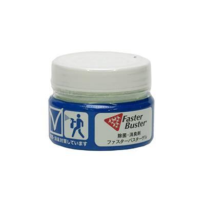 ファスターバスターゲル|置型ゲルタイプの二酸化塩素の空間除菌剤です。 密閉空間に設置することで浮遊するウイルス・菌・ニオイやカビの原因などを除去/抑制します。