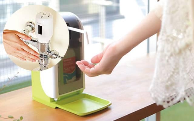 オートディスペンサー|食中毒対策は正しい手洗いと衛生管理です。季節ウイルスにも効果がある商品やや非接触で除菌できるアイテムまで取り揃えました