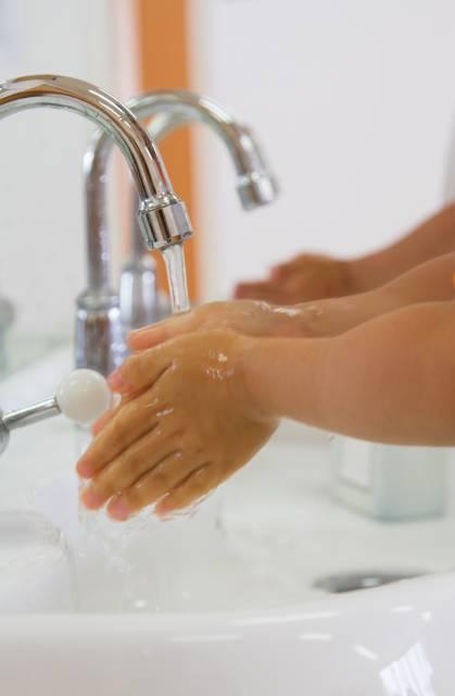 正しい知識と手洗いでウイルス対策