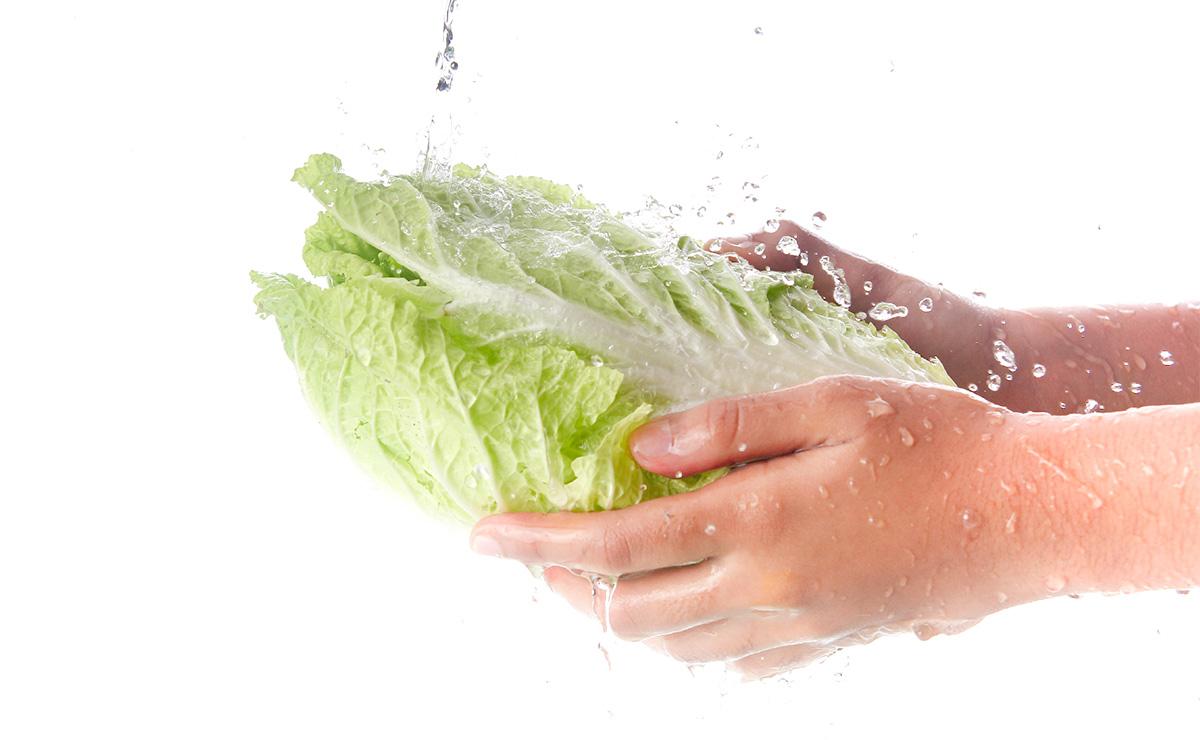 洗浄後は流水で30秒以上洗い流してください