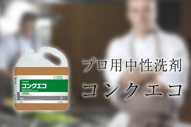 中性洗剤 コンクエコ 5KG